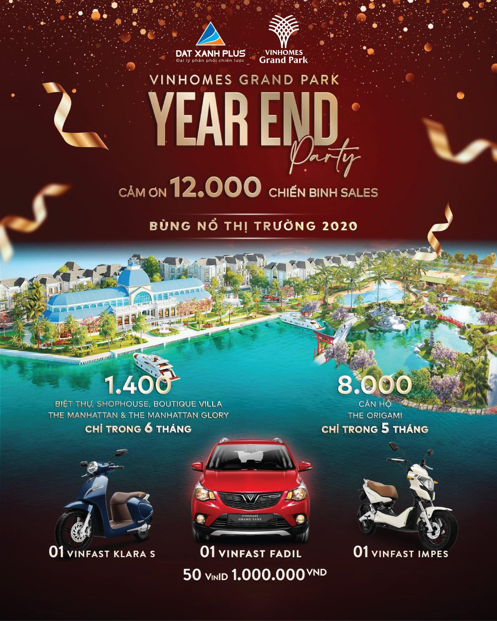 Vinhomes Grand Park - Year End Party